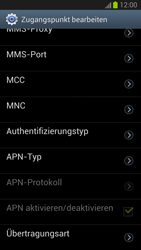 Samsung I9300 Galaxy S3 - Internet - Manuelle Konfiguration - Schritt 14
