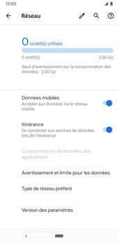 Google Pixel 3a - Aller plus loin - Désactiver les données à l'étranger - Étape 6