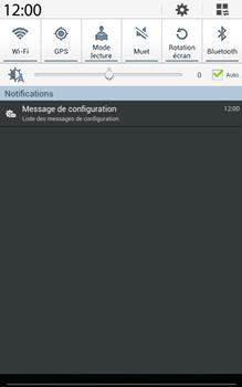 Samsung T315 Galaxy Tab 3 8-0 LTE - MMS - Configuration automatique - Étape 4
