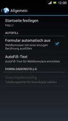 Sony Xperia J - Internet und Datenroaming - Manuelle Konfiguration - Schritt 22