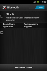 Sony ST21i Xperia Tipo - bluetooth - aanzetten - stap 6