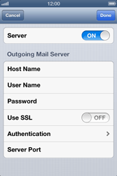 Apple iPhone 4 - E-mail - Manual configuration - Step 16