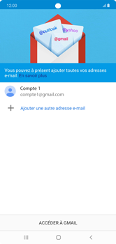 Samsung Galaxy Note 10+ - E-mails - Ajouter ou modifier votre compte Gmail - Étape 13