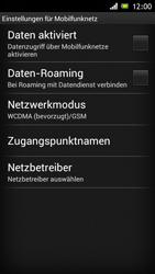 Sony Xperia J - Internet und Datenroaming - Manuelle Konfiguration - Schritt 6