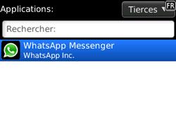 BlackBerry 8520 - Applications - Supprimer une application - Étape 5