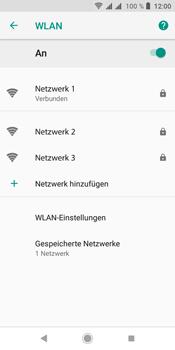 Sony Xperia L3 - WLAN - Manuelle Konfiguration - Schritt 9