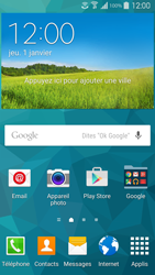 Samsung Galaxy S 5 - WiFi - Faire un appel sur WiFi - Étape 1