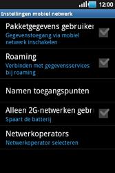 Samsung S5660 Galaxy Gio - Internet - aan- of uitzetten - Stap 6