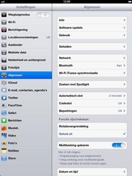 Apple The New iPad - Software updaten - Update installeren - Stap 5