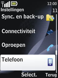 Nokia 2700 classic - netwerk en bereik - gebruik in binnen- en buitenland - stap 4
