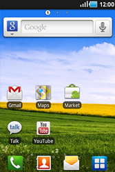 Samsung S5830 Galaxy Ace - Handleiding - download gebruiksaanwijzing - Stap 1