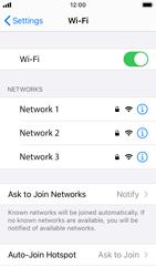 Apple iPhone SE - iOS 14 - WiFi - WiFi configuration - Step 5