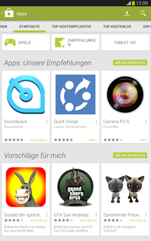 Samsung Galaxy Note 8-0 - Apps - Herunterladen - 4 / 20