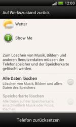 HTC Desire X - Gerät - Zurücksetzen auf die Werkseinstellungen - Schritt 6