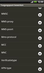 HTC S510b Rhyme - internet - handmatig instellen - stap 11