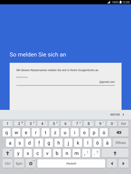 Samsung Galaxy Tab A 9.7 - Apps - Konto anlegen und einrichten - 8 / 18
