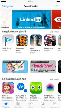 Apple iPhone 6 Plus iOS 9 - Applicazioni - Configurazione del negozio applicazioni - Fase 3