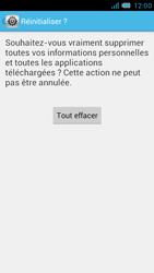 Bouygues Telecom Bs 471 - Aller plus loin - Restaurer les paramètres d'usines - Étape 7