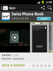Samsung Galaxy Pocket - Applications - Installing applications - Step 7