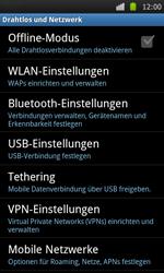 Samsung Galaxy S - WLAN - Manuelle Konfiguration - 5 / 10