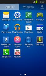 Samsung S7390 Galaxy Trend Lite - Messagerie vocale - configuration manuelle - Étape 4