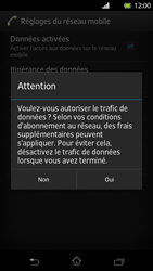 Sony Xperia T - Internet et roaming de données - Configuration manuelle - Étape 7