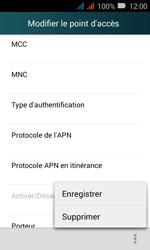 Huawei Y3 - MMS - Configuration manuelle - Étape 16