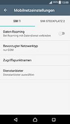 Sony Xperia XA1 - Netzwerk - Netzwerkeinstellungen ändern - Schritt 8