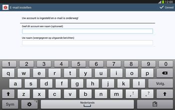 Samsung P5220 Galaxy Tab 3 10-1 LTE - E-mail - Handmatig instellen - Stap 19