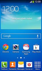 Samsung S7580 Galaxy Trend Plus - Primeros pasos - Quitar y colocar la batería - Paso 1