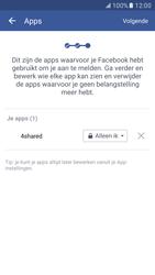 Samsung Galaxy S7 - Privacy - Privacy instellingen van Facebook aanpassen - Stap 18