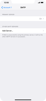 Apple iPhone XS Max - E-mail - Manual configuration POP3 with SMTP verification - Step 17