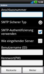 LG P970 Optimus Black - E-Mail - Konto einrichten - Schritt 11