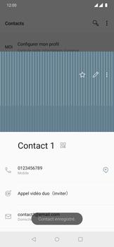 OnePlus 7 Pro - Contact, Appels, SMS/MMS - Ajouter un contact - Étape 16