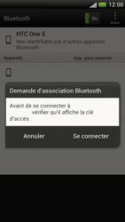 HTC Z520e One S - Bluetooth - connexion Bluetooth - Étape 10