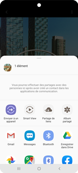 Samsung Galaxy A51 - Photos, vidéos, musique - Créer une vidéo - Étape 16