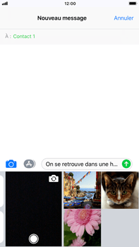 Apple iPhone 8 Plus - Contact, Appels, SMS/MMS - Envoyer un MMS - Étape 10