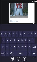 Nokia Lumia 900 - MMS - Sending pictures - Step 10