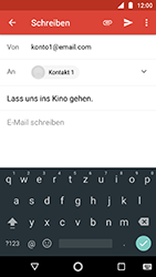 Motorola Moto G5s - E-Mail - E-Mail versenden - 1 / 1