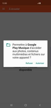 Samsung Galaxy S10 - Photos, vidéos, musique - Ecouter de la musique - Étape 5