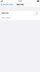 Apple iPhone 6s - iOS 13 - Startanleitung - So aktivieren Sie eine SIM-PIN - Schritt 5