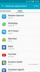 Samsung Galaxy A5 (2016) (A510F) - Applicazioni - Come disinstallare un
