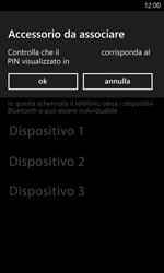 Nokia Lumia 820 / Lumia 920 - Bluetooth - Collegamento dei dispositivi - Fase 7