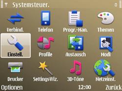 Nokia E72 - MMS - Manuelle Konfiguration - Schritt 5