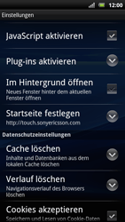 Sony Ericsson Xperia Arc S - Internet - Apn-Einstellungen - 1 / 1