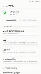 Samsung Galaxy A5 (2017) - Android Nougat - Apps - Eine App deinstallieren - Schritt 6