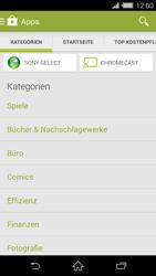 Sony Xperia Z2 - Apps - Installieren von Apps - Schritt 6