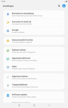 Samsung galaxy-tab-a-8-0-lte-2019-sm-t295 - Instellingen aanpassen - Back-up maken in je account - Stap 4