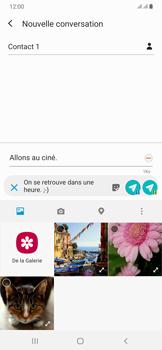 Samsung Galaxy A50 - Contact, Appels, SMS/MMS - Envoyer un MMS - Étape 17