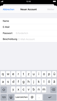 Apple iPhone 6s Plus - iOS 14 - E-Mail - Manuelle Konfiguration - Schritt 8